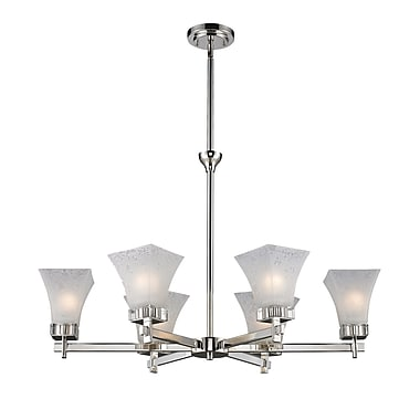Z-Lite Pershing (319-6) 6 Light Chandelier Light, 32.13