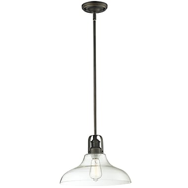 Z-Lite Forge (323-13MP-VB) 1 Light Pendant, 13