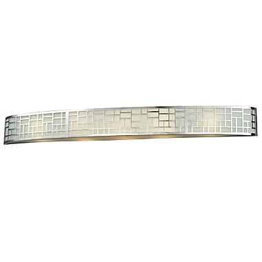 Z-Lite Elea (328-5V-CH) - Luminaire pour salle de bains à cinq lumières, 3,88 po x 44,13 po x 4,75 po