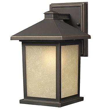 Z-Lite Holbrook (507B-ORB) Outdoor Wall Light, 10.63
