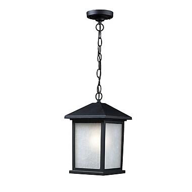 Z-Lite Holbrook (507CHB-BK) Outdoor Wall Light, 9.5