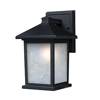 Z-Lite Holbrook (507M-BK) Outdoor Wall Light, 9.13
