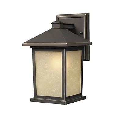 Z-Lite Holbrook (507M-ORB) Outdoor Wall Light, 9.13