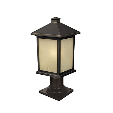 Z-Lite Holbrook (507PHM-533PM-ORB) Outdoor Post Light, 8.13