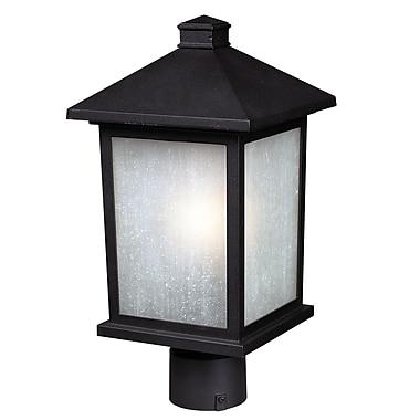 Z-Lite Holbrook (507PHM-BK) Outdoor Post Lights, 8.13