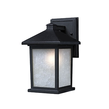 Z-Lite Holbrook (507S-BK) Outdoor Wall Light, 7.13