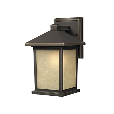 Z-Lite Holbrook (507S-ORB) Outdoor Wall Light, 7.13