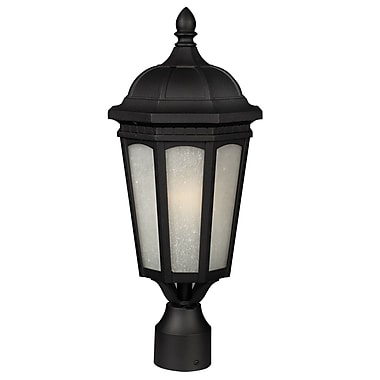 Z-Lite Newport (508PHB-BK) Outdoor Wall Light, 10.38