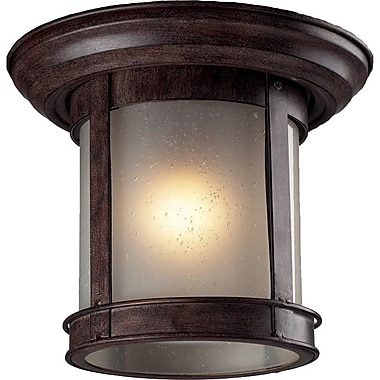 Z-Lite (514F-WB) Outdoor Flush Mount Light, 9.75