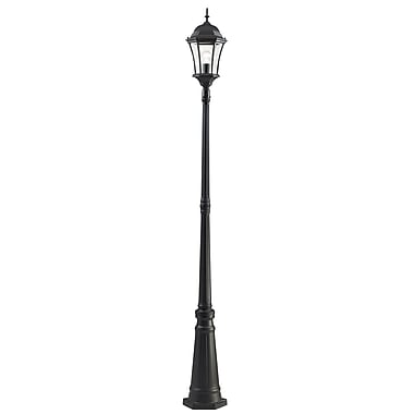 Z-Lite Wakefield (522MP1-BK) Outdoor Post Light, 10