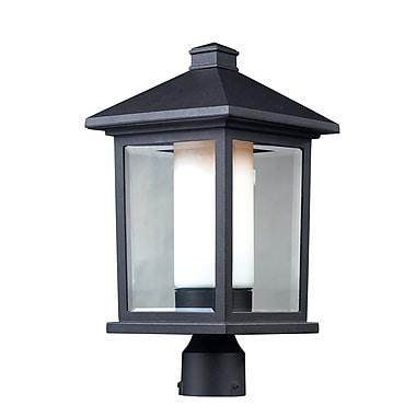 Z-Lite Mesa 523PHB - Lampadaire pour l'extérieur, 9,5 po x 18,5 po, noir