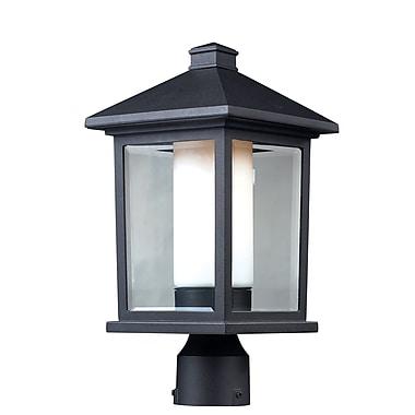 Z-Lite – Lampadaire pour l'extérieur Mesa (523PHM), 8 x 15,5 po, noir