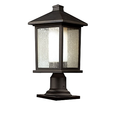 Z-Lite Mesa 524PHB-533PM-ORB, Outdoor Post Light, 9.5