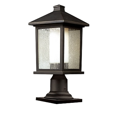 Z-Lite Mesa 524PHM-533PM-ORB, Outdoor Post Light, 8.13