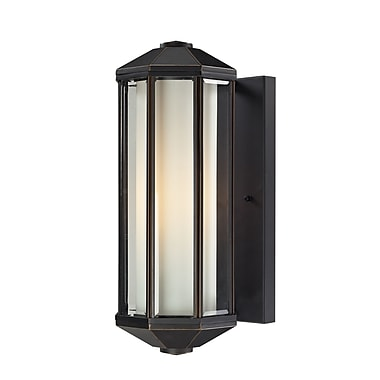Z-Lite Cylex (526-ORB) Outdoor Wall Light, 7.7