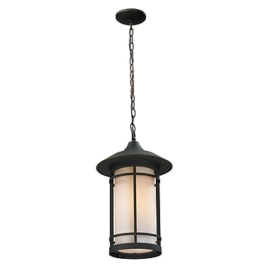 Z-Lite Woodland (528CHM-ORB) Outdoor Chain Light, 8.13