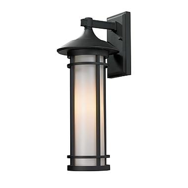 Z-Lite Woodland (529M-BK) Outdoor Wall Light, 9.13