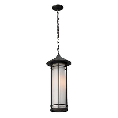 Z-Lite Woodland (530CHM-ORB) Outdoor Chain Light, 8.13