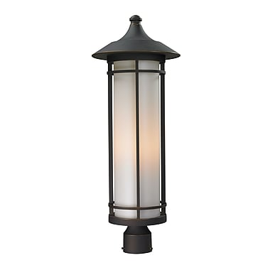 Z-Lite Woodland (530PHB-ORB) Outdoor Post Light, 10