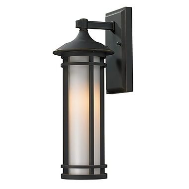 Z-Lite Woodland (530S-ORB) Outdoor Wall Light, 7