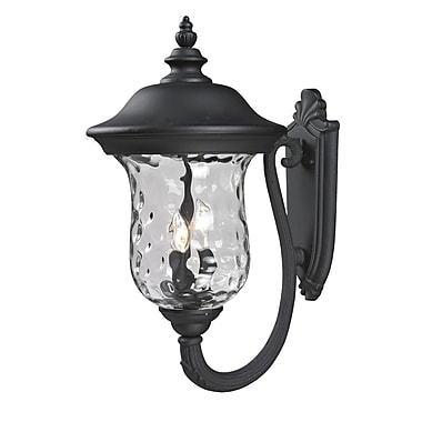 Z-Lite Armstrong (533B-BK) Outdoor Wall Light, 16