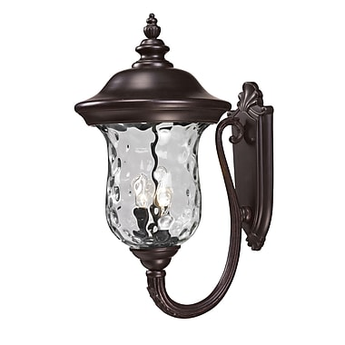 Z-Lite Armstrong (533B-RBRZ) Outdoor Wall Light, 16
