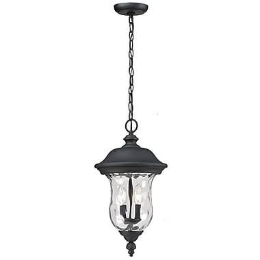 Z-Lite Armstrong (533CHM-BK) Outdoor Chain Lights, 10