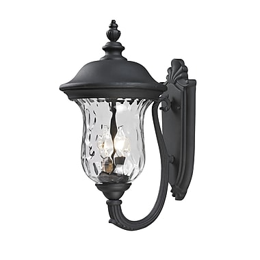 Z-Lite Armstrong (533M-BK) Outdoor Wall Light, 12.8