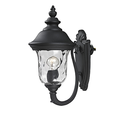 Z-Lite Armstrong (533S-BK) Outdoor Wall Light, 10.38