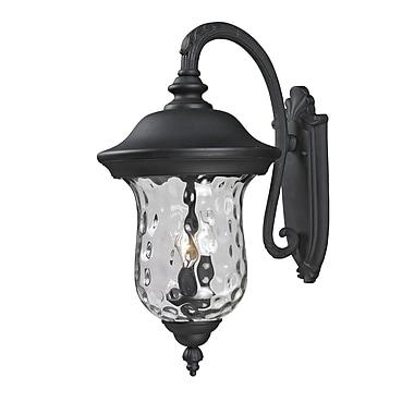Z-Lite Armstrong (534B-BK) Outdoor Wall Light, 16