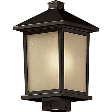 Z-Lite Holbrook (537PHB-ORB) Outdoor Post Light, 9.5