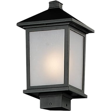 Z-Lite Holbrook (537PHM-BK) Outdoor Post Lights, 8.13