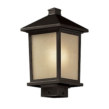 Z-Lite Holbrook (537PHM-ORB) Outdoor Post Light, 8.13
