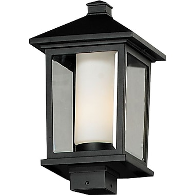 Z-Lite Mesa 538PHB-BK, Outdoor Post Light, 9.5