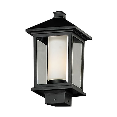 Z-Lite Mesa 538PHM-BK, Outdoor Post Light, 8