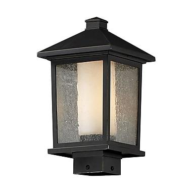 Z-Lite Mesa 538PHM-ORB, Outdoor Post Light, 8.13