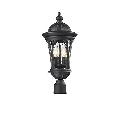 Z-Lite Doma (543PHM-BK) Outdoor Post Light, 9