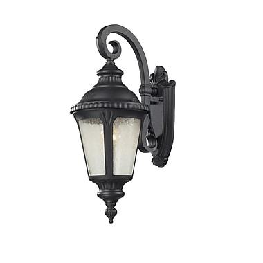 Z-Lite Medow (545S-BK) 1 Light Outdoor Light, 10.75