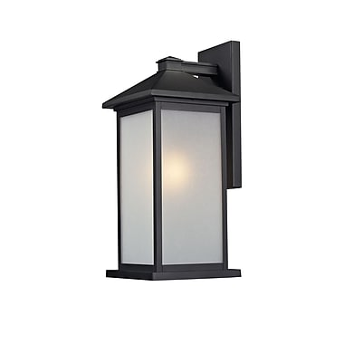 Z-Lite Vienna (547B-BK) 1 Light Outdoor Light, 10.75