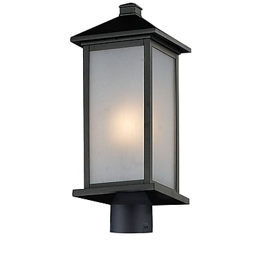 Z-Lite Vienna (547PHM-BK-R) Outdoor Post Light, 8