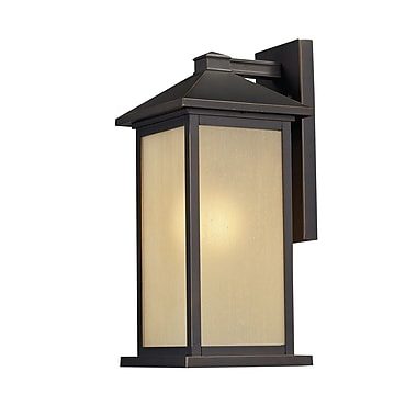 Z-Lite Vienna (548B-ORB) Outdoor Wall Mount Light, 10.75
