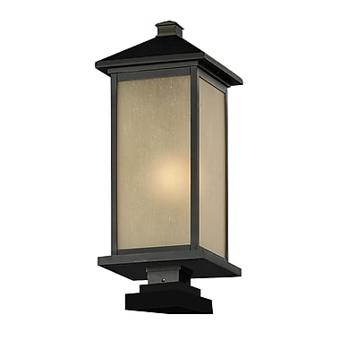 Z-Lite Vienna (548PHB-SQPM-ORB) Outdoor Post Light, 9.5