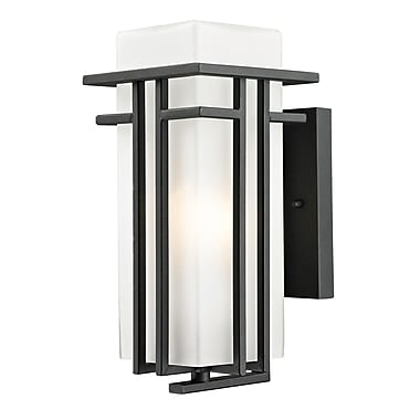 Z-Lite Abbey (549S-BK) Outdoor Wall Light, 6.75