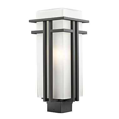 Z-Lite Abbey (550PHB-ORBZ) Outdoor Post Light, 7.75
