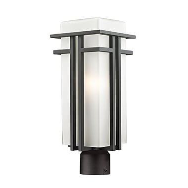 Z-Lite Abbey (550PHB-ORBZ-R) Outdoor Post Light, 7.75