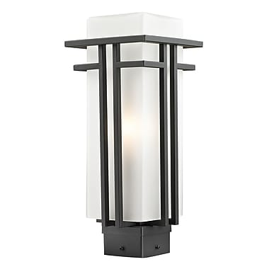 Z-Lite Abbey (550PHM-ORBZ) Outdoor Post Light, 6.63