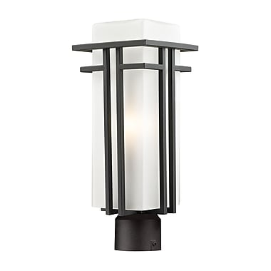 Z-Lite Abbey (550PHM-ORBZ-R) Outdoor Post Light, 6.63