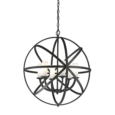 Z-Lite Aranya (6017-6L-BRZ) 6 Light Pendant, 23.82