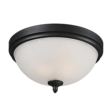 Z-Lite Arshe (603F3) 3 Light Flush Mount, 15