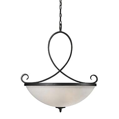Z-Lite – Luminaire suspendu Arshe (603P) à 3 lampe, 24,5 x 28,5 po, bronze café
